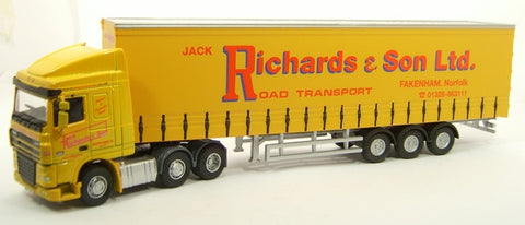 Oxford Diecast Jack Richards DAF 105 - 1:76 Scale