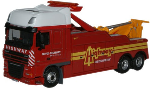 Oxford Diecast Highway Recovery DAF Boniface Recovery Truck - 1:76 Sca
