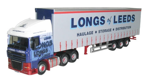 Oxford Diecast Longs of Leeds DAF 105 - 1:76 Scale