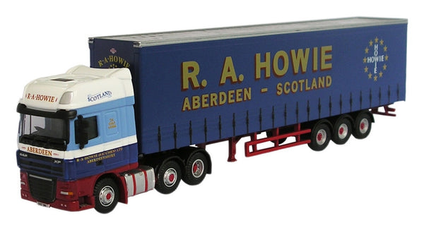 Oxford Diecast R A Howie DAF 105 - 1:76 Scale