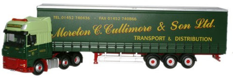 Oxford Diecast Moreton C Cullimore DAF 105 XXL Curtainside - 1:76 Scal