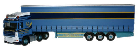 Oxford Diecast DAF 105 (SC) Curtainside A F Davison - 1:76 Scale