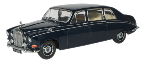 Oxford Diecast Dark Blue Daimler DS420 Limo - 1:43 Scale