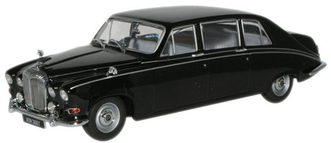 Oxford Diecast Black Daimler DS420 Limousine - 1:43 Scale