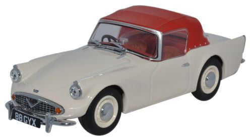Oxford Diecast Daimler SP250 Hood Ivory/Red - 1:43 Scale