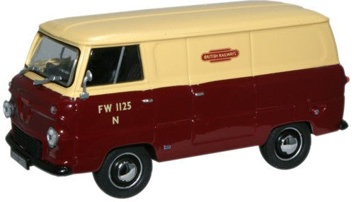 Oxford Diecast British Railways Ford Thames Van - 1:43 Scale