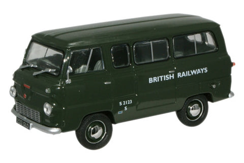 Oxford Diecast British Railways Ford Thames Minibus - 1:43 Scale