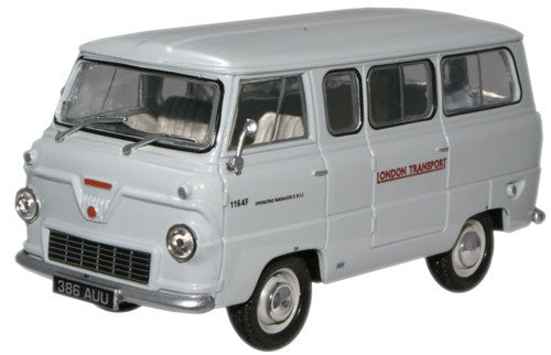 Oxford Diecast London Transport Ford 400E Minibus - 1:43 Scale