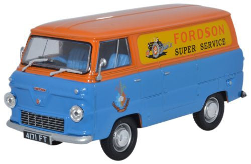 Oxford Diecast Ford 400E Van Fordson Tractors - 1:43 Scale