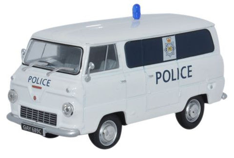 Oxford Diecast Ford 400E Van Glamorgan Police - 1:43 Scale