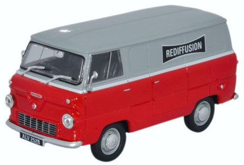 Oxford Diecast Ford 400E Rediffusion