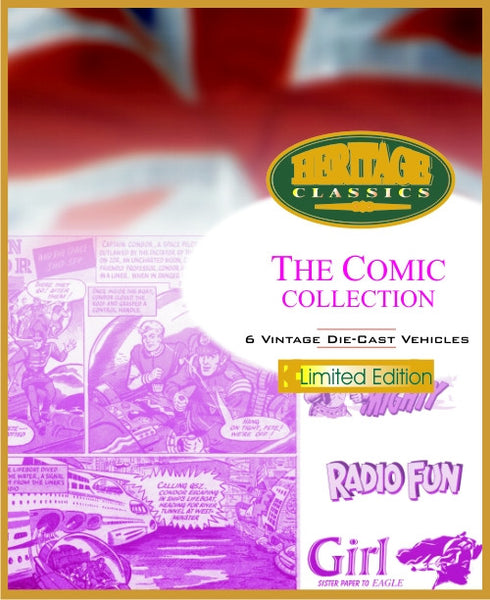 Oxford Diecast Comic Collection