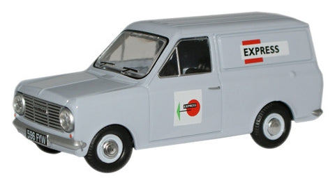 Oxford Diecast Rail Express Parcels Bedford HA Van - 1:43 Scale