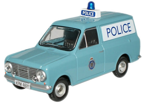 Oxford Diecast Cheshire Police Bedford HA Van - 1:43 Scale