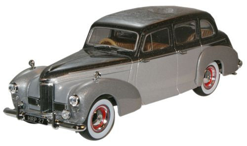 Oxford Diecast Black Pearl/Shell Grey Humber Pullman Limousine - 1:43