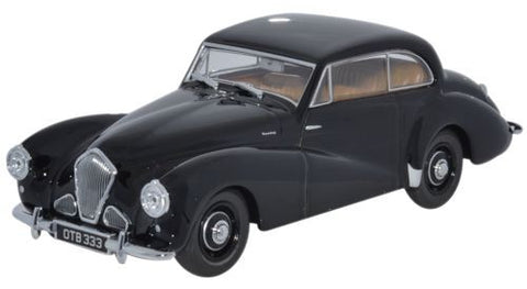 Oxford Diecast Healey Tickford Black - 1:43 Scale