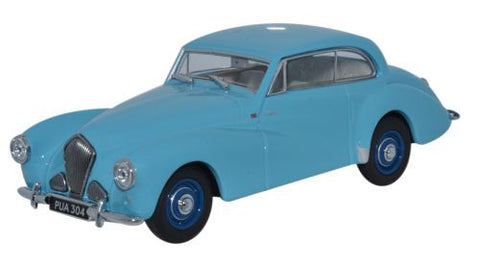 Oxford Diecast Healey Tickford Pale Blue - 1:43 Scale
