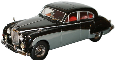 Oxford Diecast Black/Cornish Grey Jaguar MkVIII - 1:43 Scale