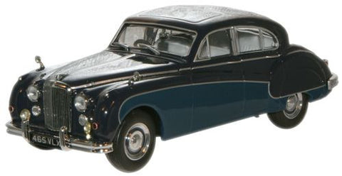 Oxford Diecast Indigo/Cotswold Blue Jaguar MkVIII - 1:43 Scale