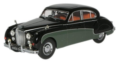 Oxford Diecast Black/Sherwood Green Jaguar MkIX - 1:43 Scale