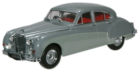 Oxford Diecast Cornish Grey/Mist Grey Jaguar MkIX - 1:43 Scale