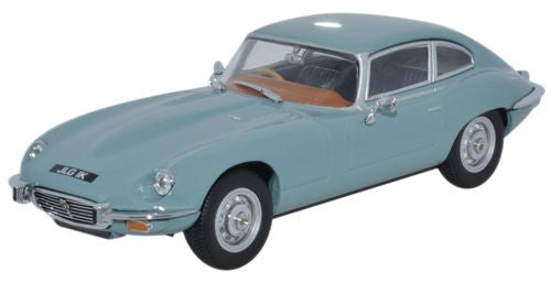 Oxford Diecast Jaguar V12 Light Blue - 1:43 Scale