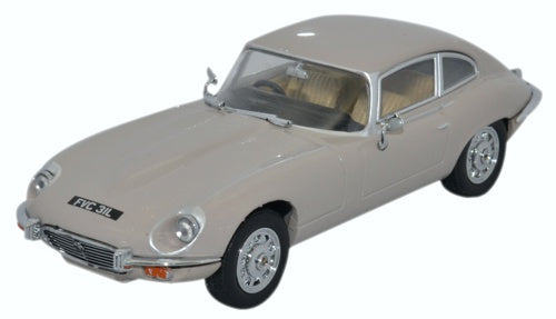 Oxford Diecast Jaguar V12 E Type Coupe Ascot Fawn
