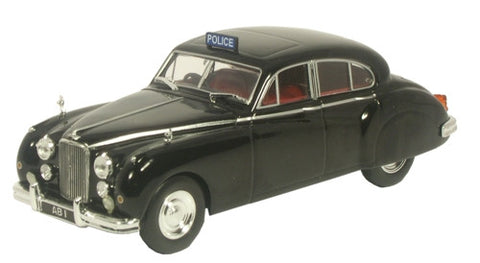 Oxford Diecast Jaguar MKVIIM  Worcestershire Police - 1:43 Scale