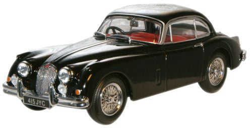 Oxford Diecast Jaguar XK150 Black - 1:43 Scale
