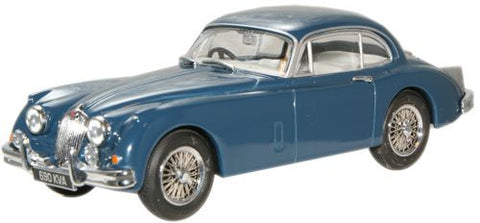Oxford Diecast Cotswold Blue Jaguar XK150 FHC - 1:43 Scale