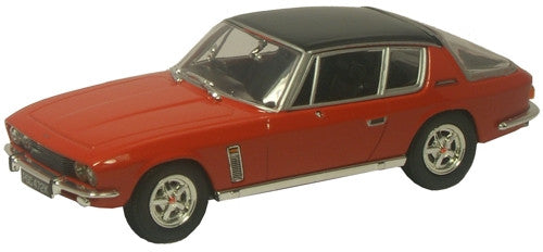 Oxford Diecast Jensen Interceptor Flag Red Series III - 1:43 Scale