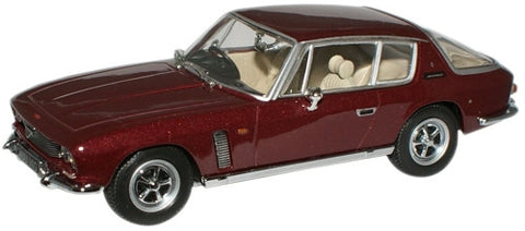 Oxford Diecast Regal Red Jensen Interceptor MkI - 1:43 Scale