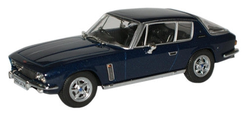 Oxford Diecast Royal Blue Jensen Interceptor MkIII - 1:43 Scale