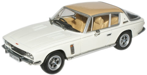 Oxford Diecast Old English White/Tan Jensen Interceptor MkIII - 1:43 S
