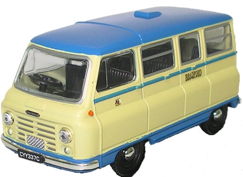 Oxford Diecast Bradford Mini Bus - 1:43 Scale