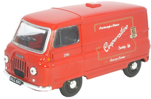 Oxford Diecast Co-op Burgundy - 1:43 Scale