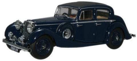 Oxford Diecast Dark Blue SS Jaguar - 1:43 Scale