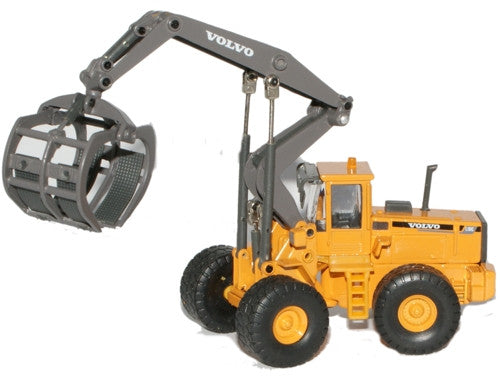 CARARAMA L180C Wheel Loader 1.87 - 1:87 Scale - OxfordDiecast