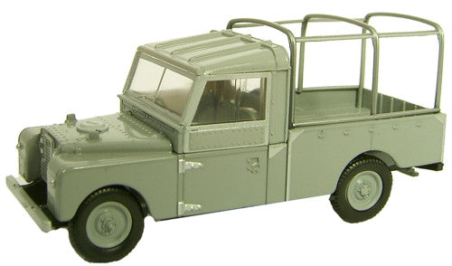 Oxford Diecast Grey Land Rover 109 inch - 1:43 Scale