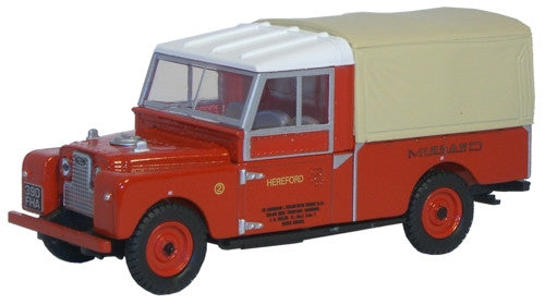"Oxford Diecast Midland Red Land Rover Series 1 109"" Frame - 1:43 Scale"