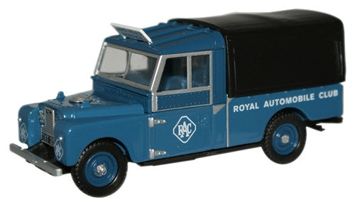 "Oxford Diecast RAC Land Rover 109"" Canvas - 1:43 Scale"