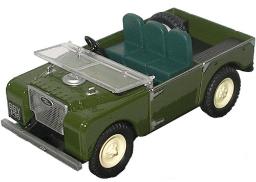Oxford Diecast Land Rover Bronze Green 80 inch - 1:43 Scale
