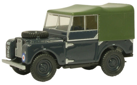 "Oxford Diecast RAF Land Rover 80"" Canvas - 1:43 Scale"