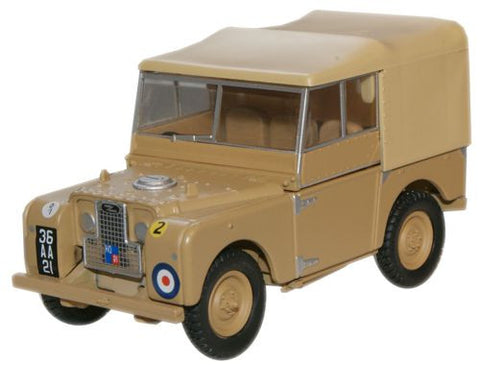 Oxford Diecast Series 1 Land Rover 34th Light AA Reg - 1:43 Scale