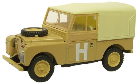 Oxford Diecast Sand/Military - 1:43 Scale
