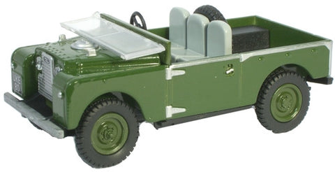 Oxford Diecast Bronze Green 88 inch Land Rover - 1:43 Scale