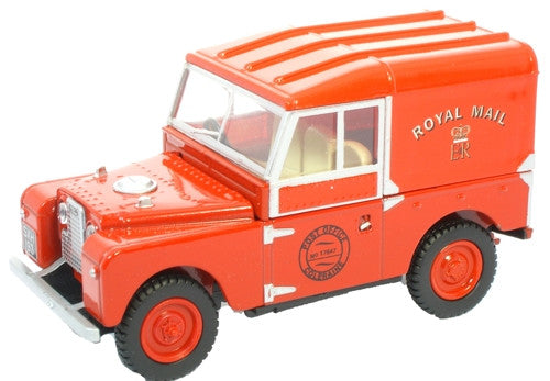 Oxford Diecast Royal Mail Land Rover - 1:43 Scale