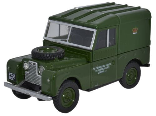 "Oxford Diecast Land Rover Series 1 88"" Hard Top Post Office Telephones"