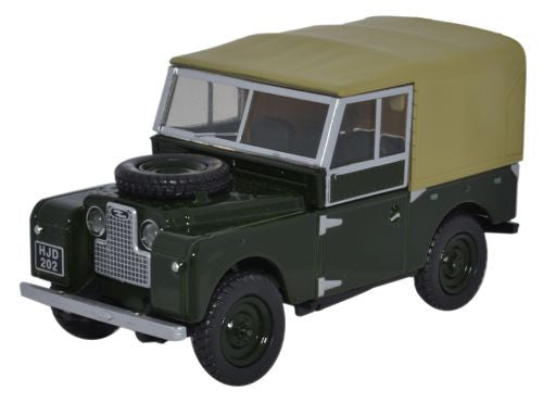 Oxford Diecast Land Rover Series 1 88 Canvas Bronze Green - 1:43 Scale