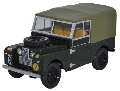 Oxford Diecast Land Rover Series 1 88 Canvas REME - 1:43 Scale